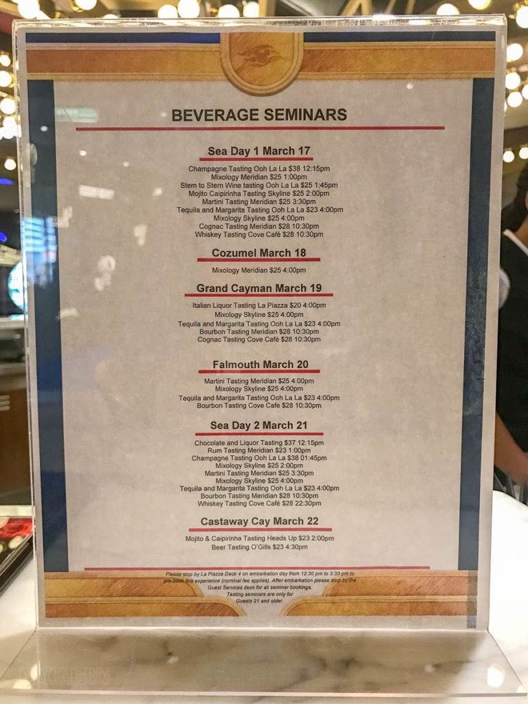 Fantasy Beverage Seminars
