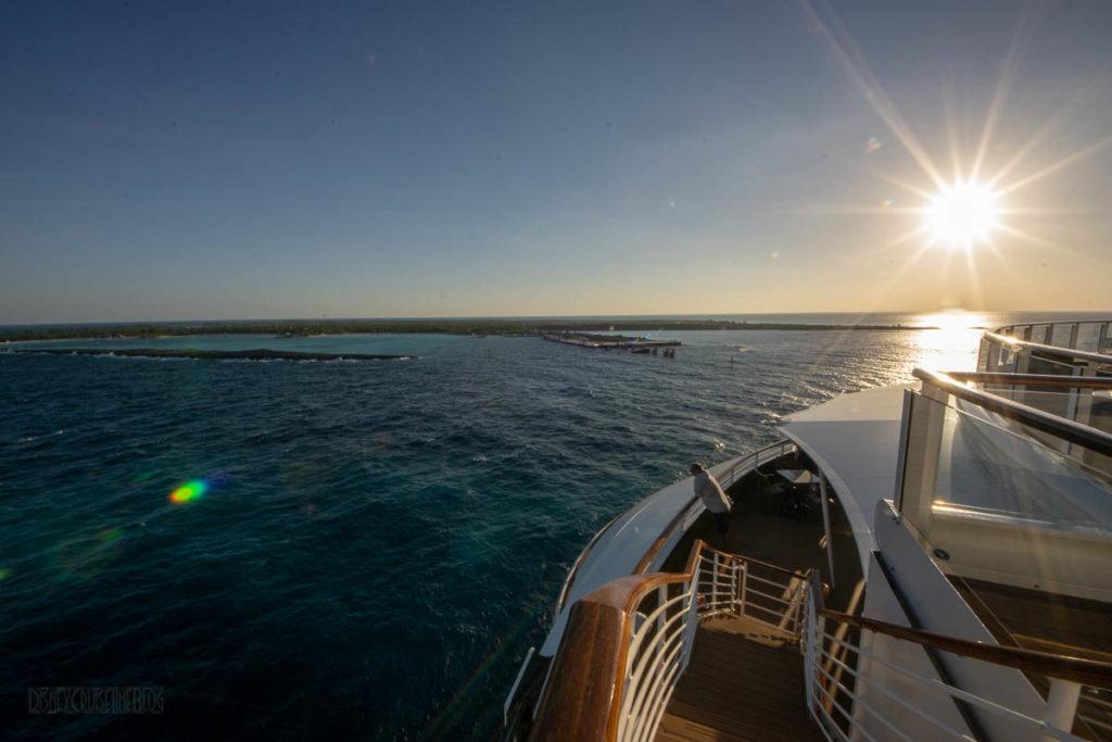 Fantasy Castaway Cay Docking