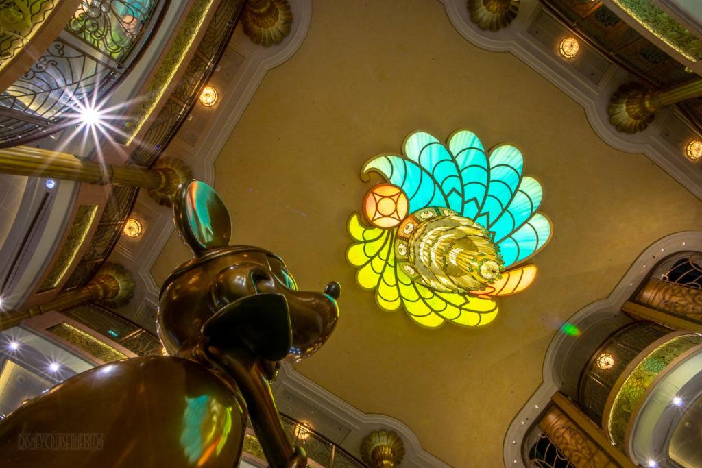 Fantasy Flapper Minnie Atrium Chandelier