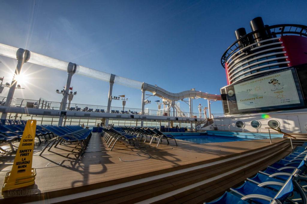 Fantasy Pool Deck Castaway Cay Forecast