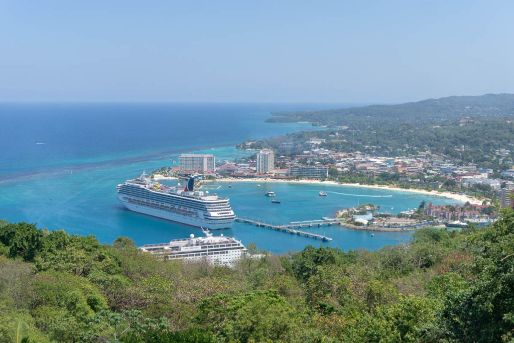 Jamaica Port Ocho Rios Carnival Freedom MSC