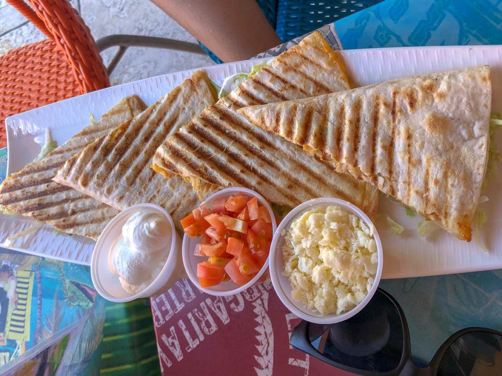 Margaritaville Grand Cayman Chicken Quesadilla