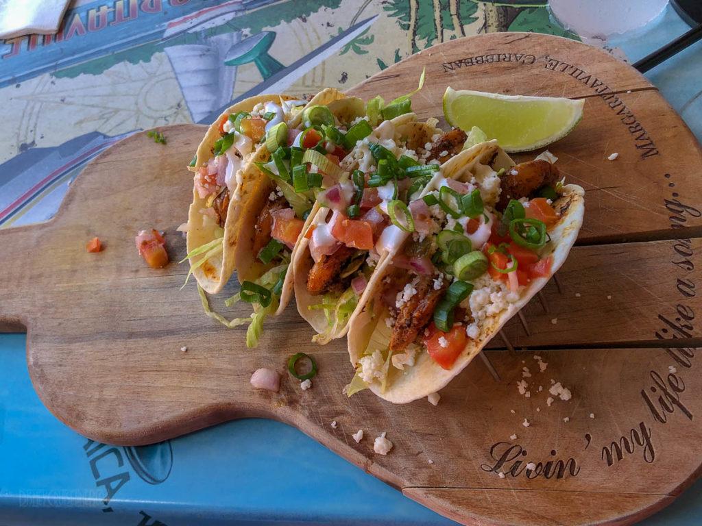 Margaritaville Grand Cayman Fish Tacos
