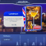 Skyline Menu London Londinium March 2019