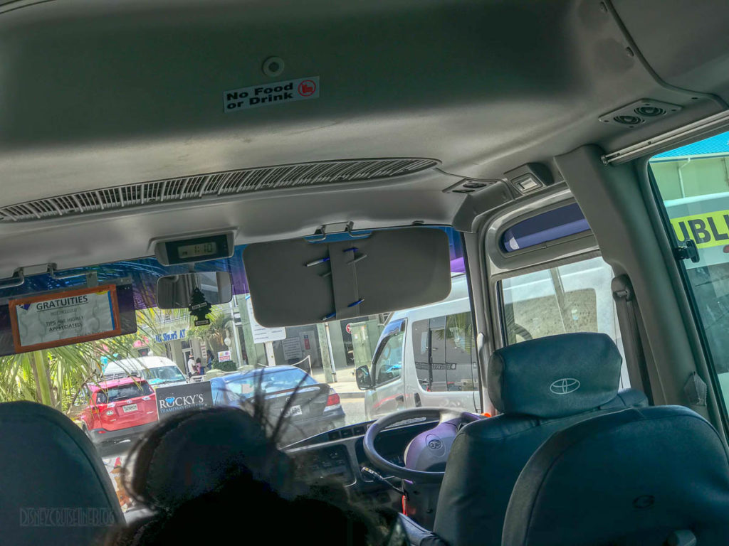 Captain Marvins Grand Cayman Bus Inside