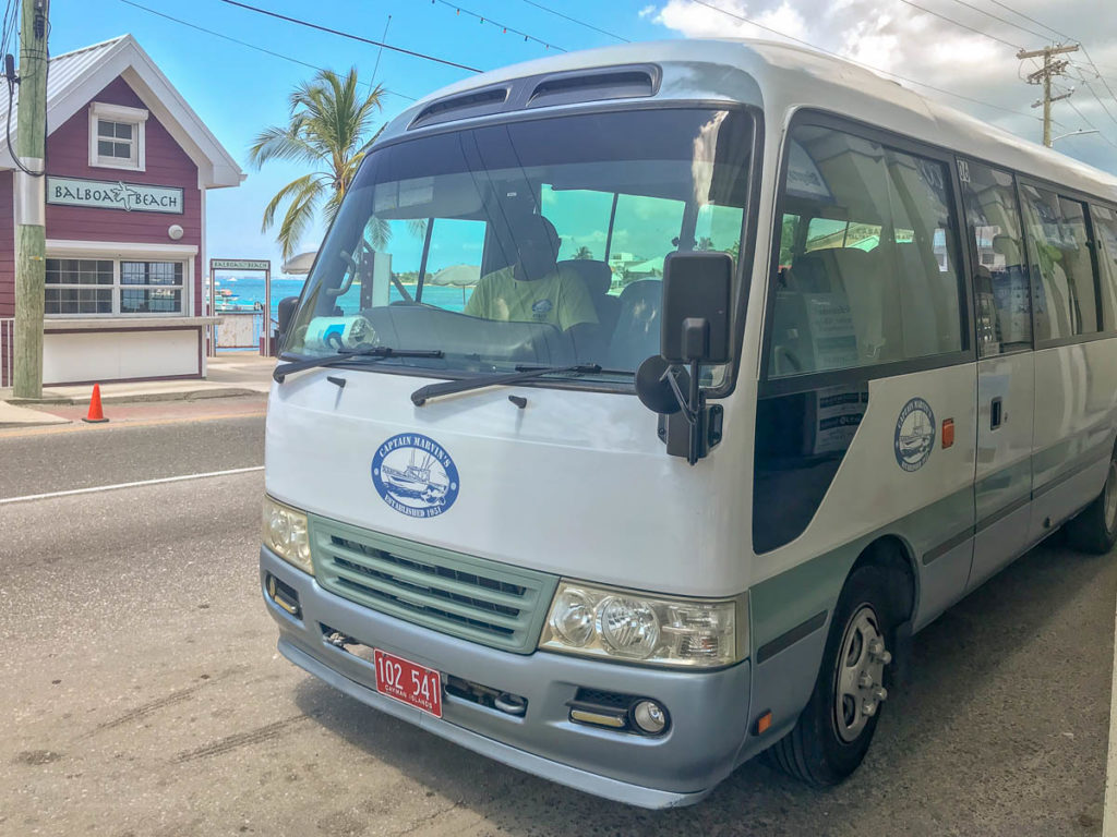 Captain Marvins Grand Cayman Bus