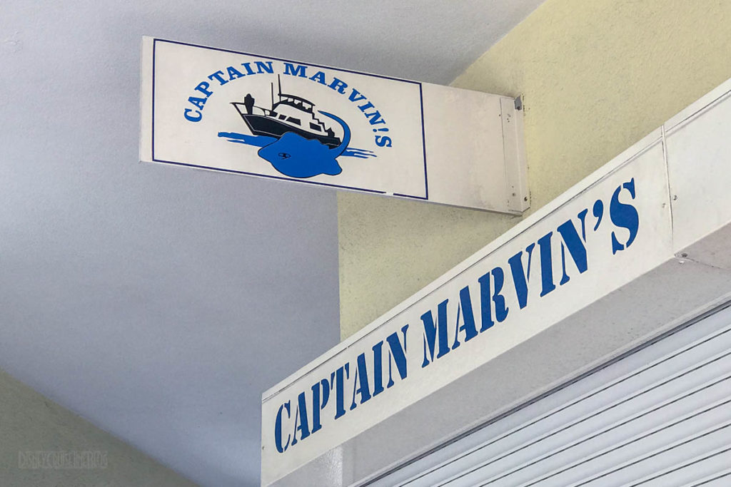 Captain Marvins Grand Cayman Office Sign