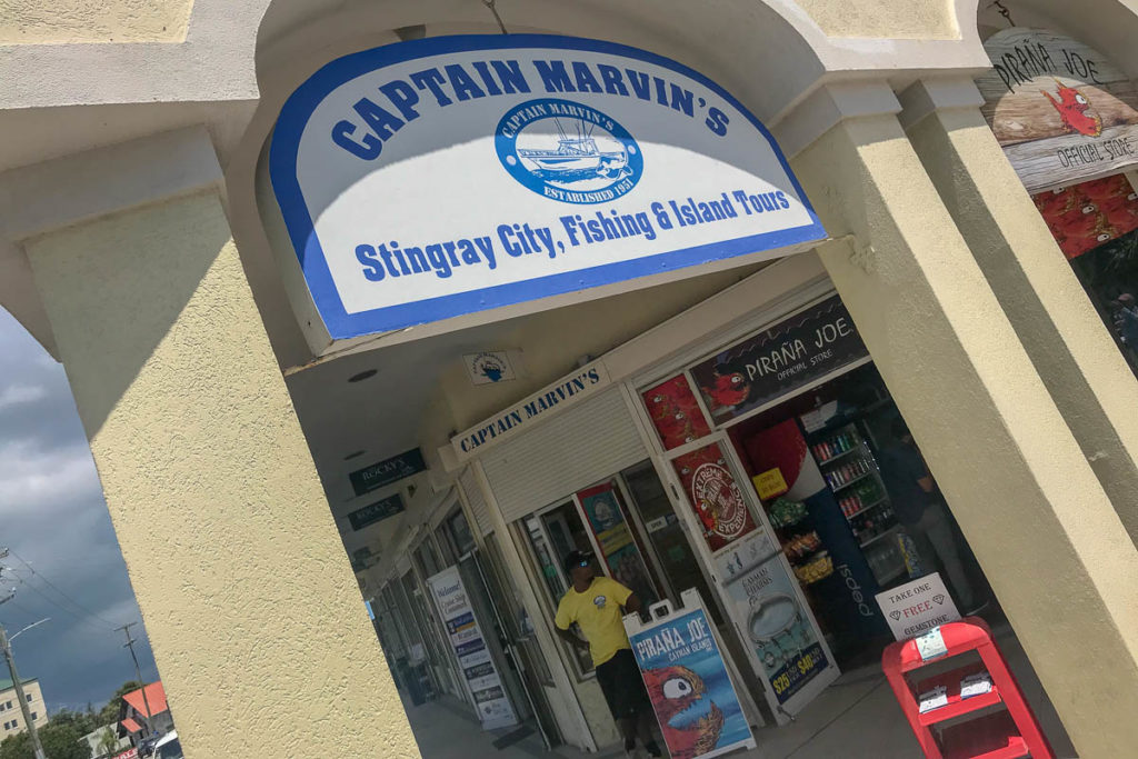 Captain Marvins Grand Cayman Office