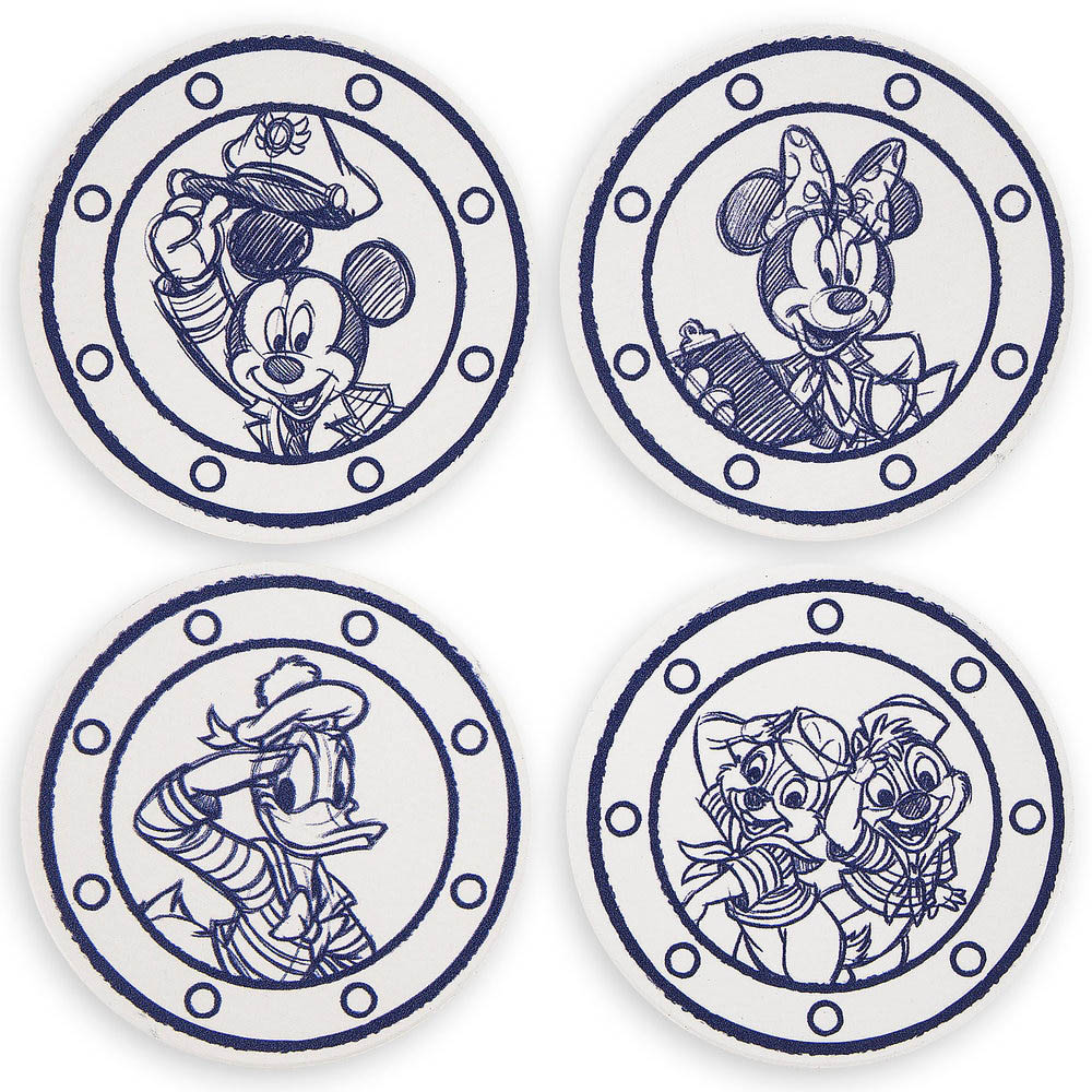 DCL Animators Palate Merchandise Coaster Set
