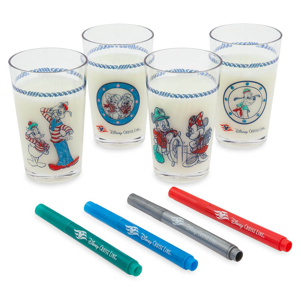 DCL Animators Palate Merchandise Drinkware Marker Set
