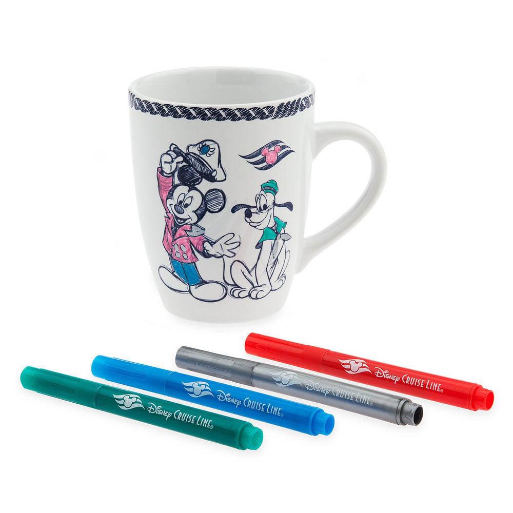 DCL Animators Palate Merchandise Mug Marker Set