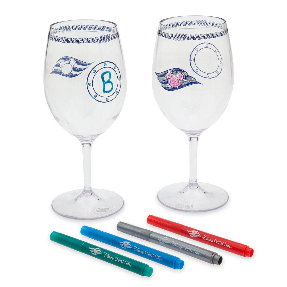 DCL Animators Palate Merchandise Stemware Marker Set