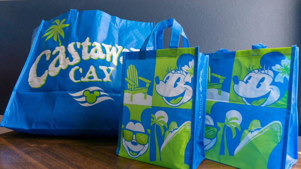 DCL Reusable Shopping Bag Castaway Cay