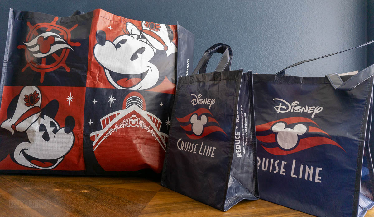 DCL Reusable Shopping Bag Onboard