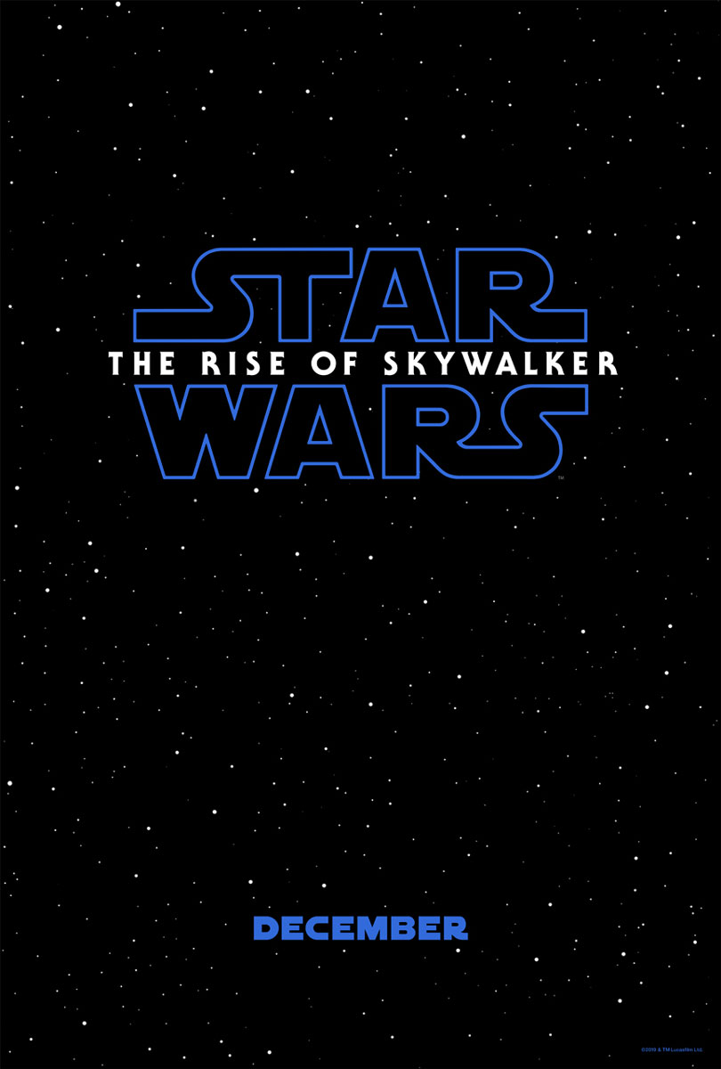 Star Wars IX Rise Of Skywalker Movie Teaser Poster