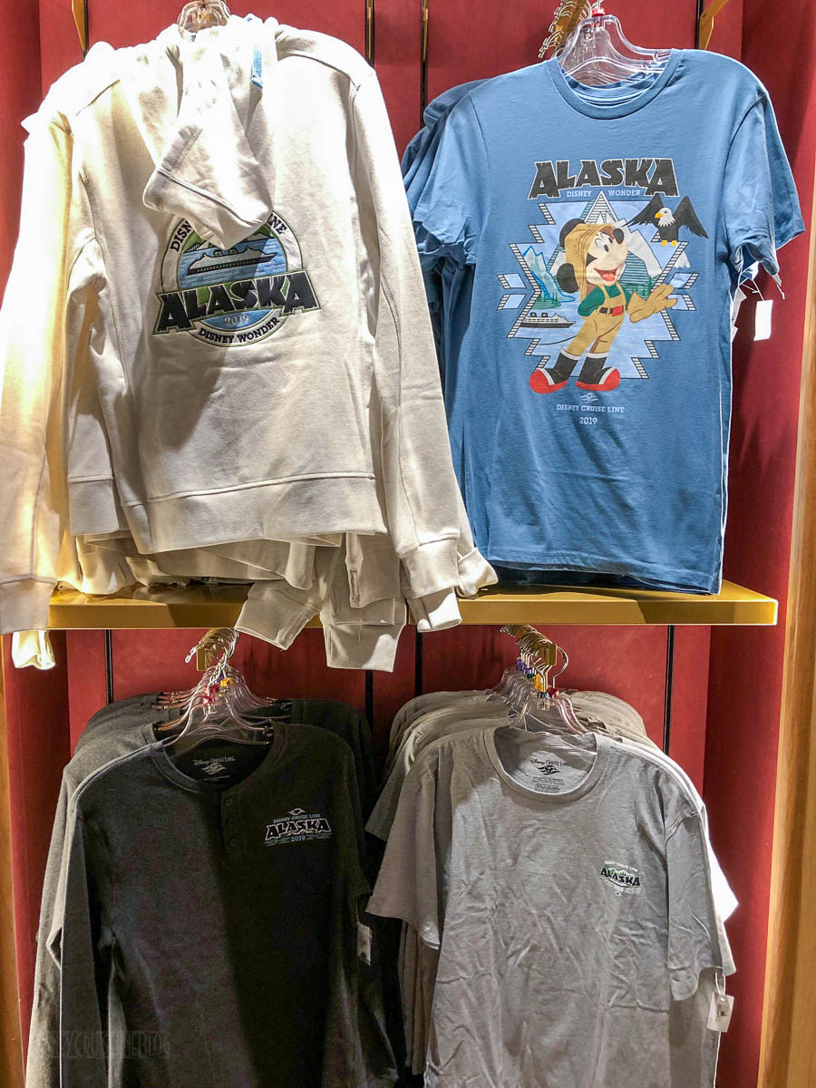 Disney Cruise Line Halloween Merchandise.2019 Disney Wonder Alaskan Merchandise Preview The Disney Cruise