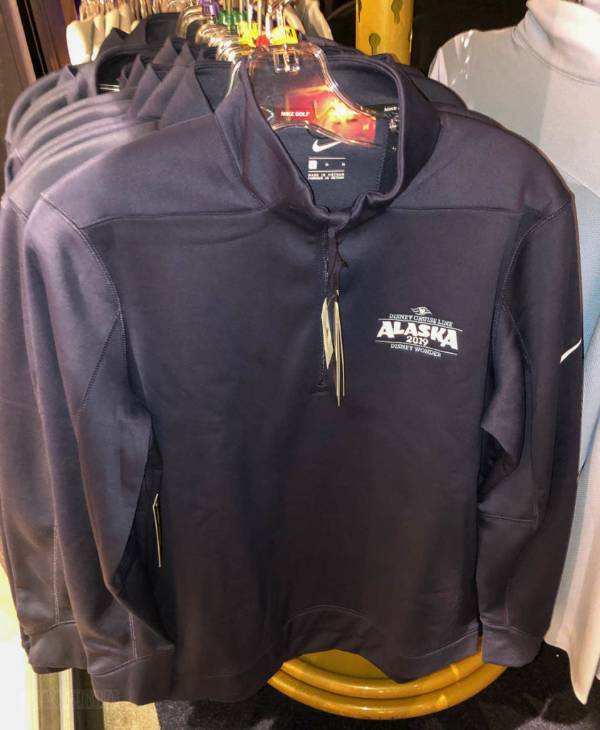 DCL 2019 Alaska Merchandise Ed Lin Nike Pullover