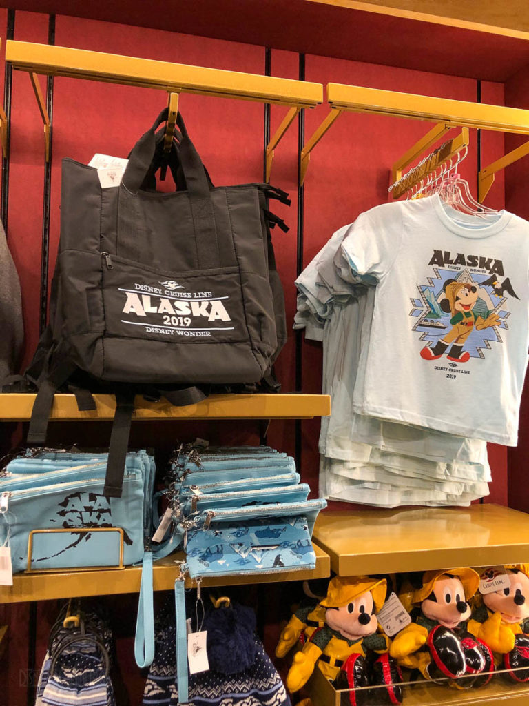 DCL 2019 Alaska Merchandise Ed Lin Youth Shirt Bags