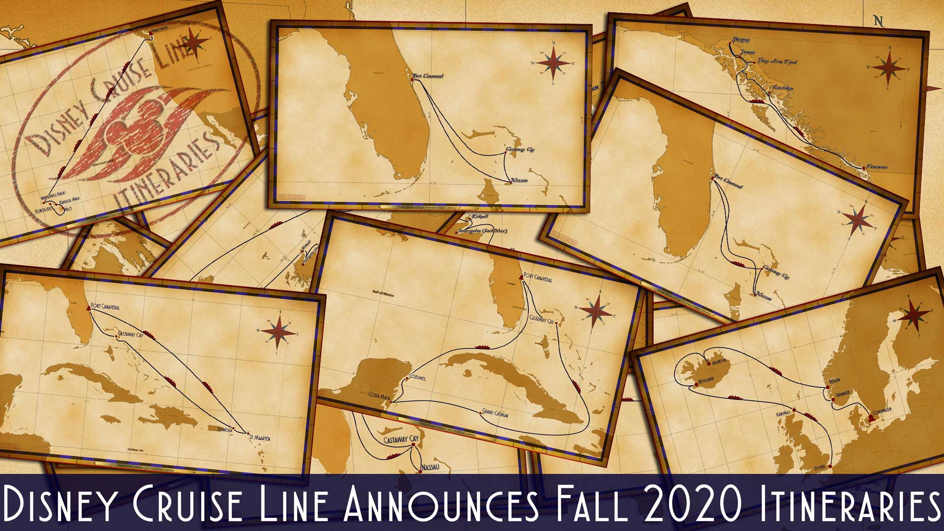 DCL Itinerary Release Fall 2020