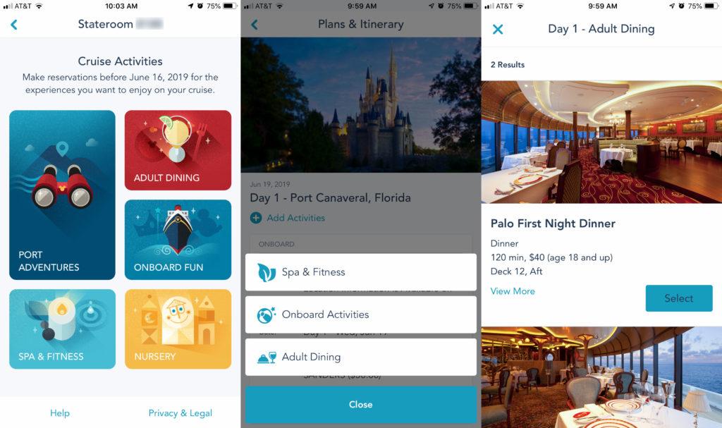 DCL Navigator App 3 Add Activities