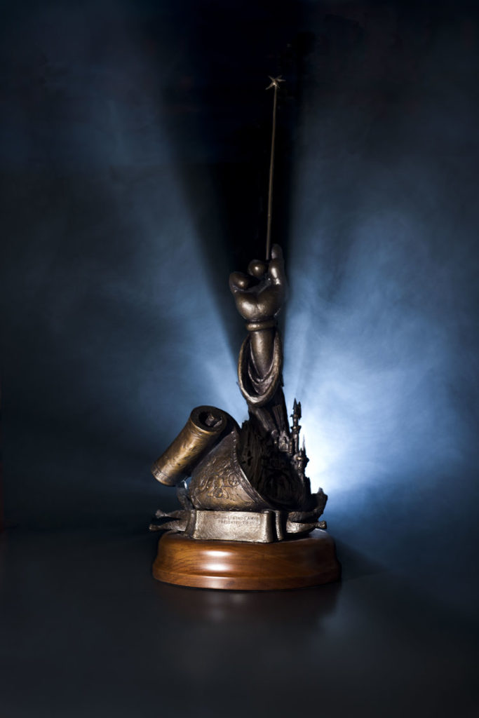 Disney Legends Award Bronze Sculture