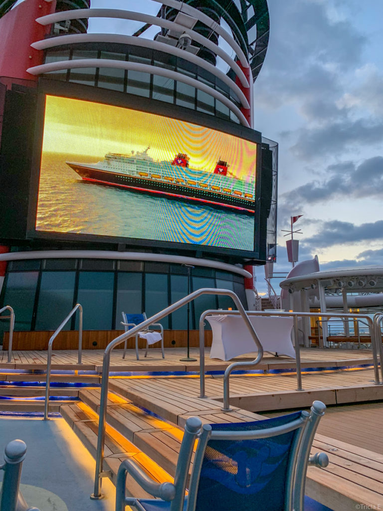 Disney Wonder Easter Sunday 2019 Sunrise Service