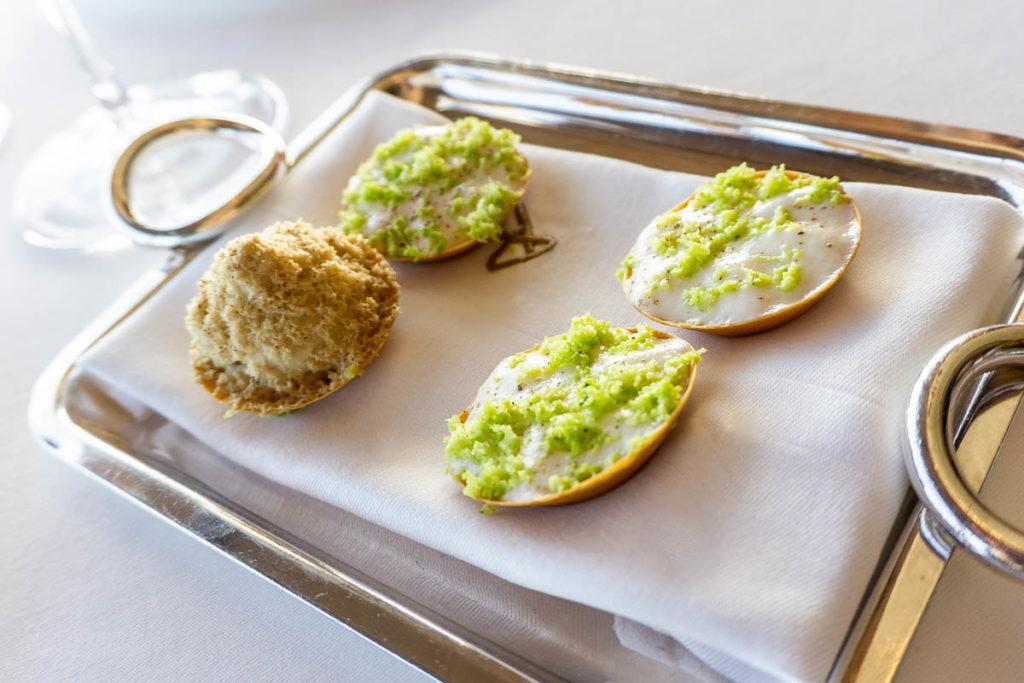 Fantasy Remy Dinner Foie Gras Cauliflower Lime Canapes