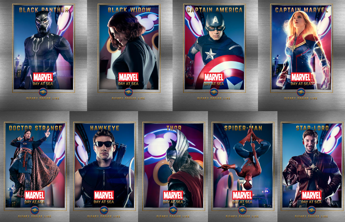 Marvel Day At Sea Super Hero Wallpapers