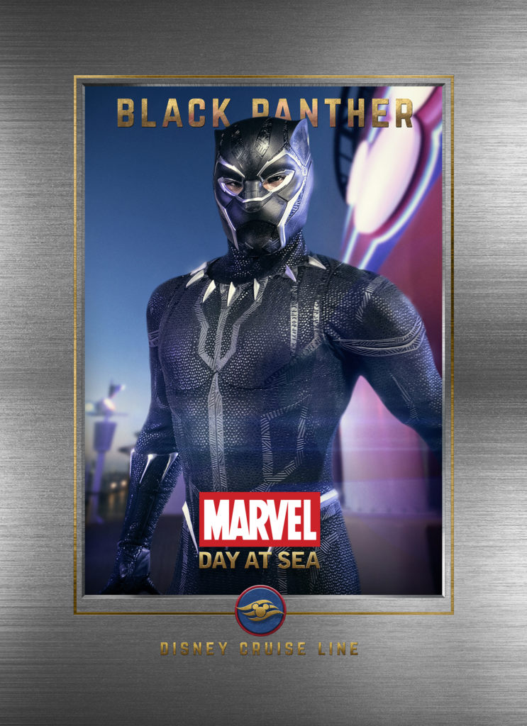 Marvel Day At Sea Wallpaper Black Panther