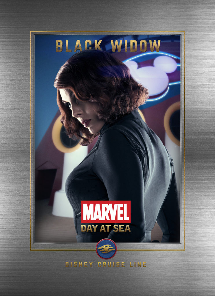 Marvel Day At Sea Wallpaper Black Widow