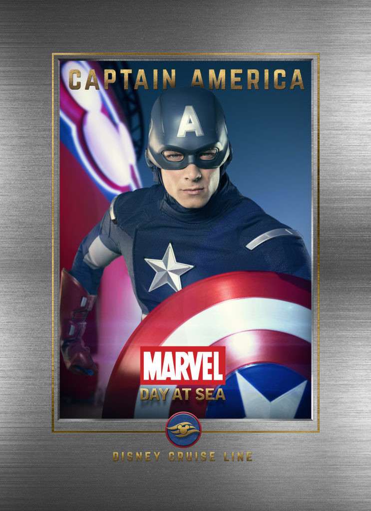 Marvel Day At Sea Wallpaper Captain America