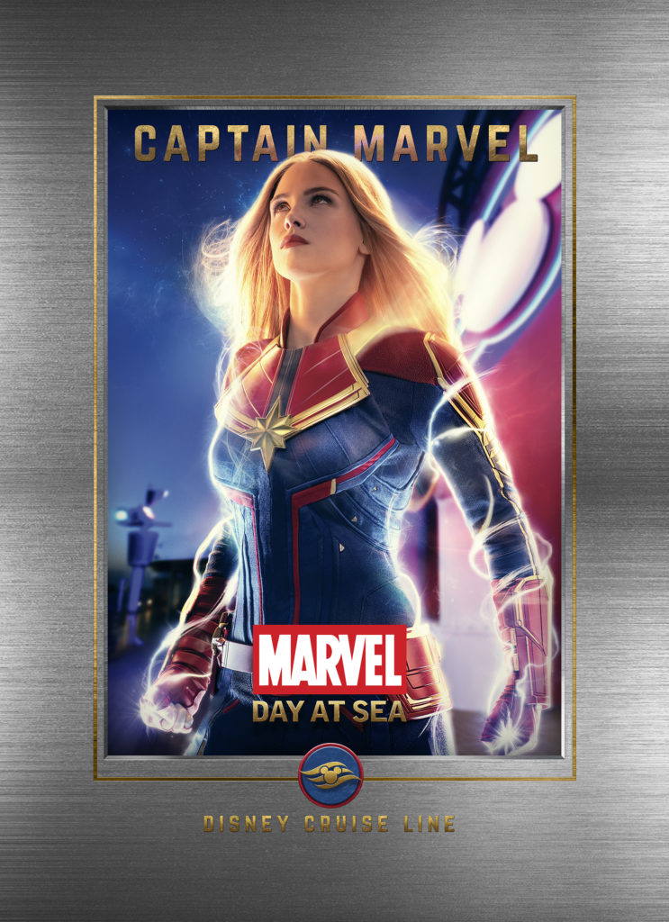 Marvel Day At Sea Wallpaper Captain Marvel
