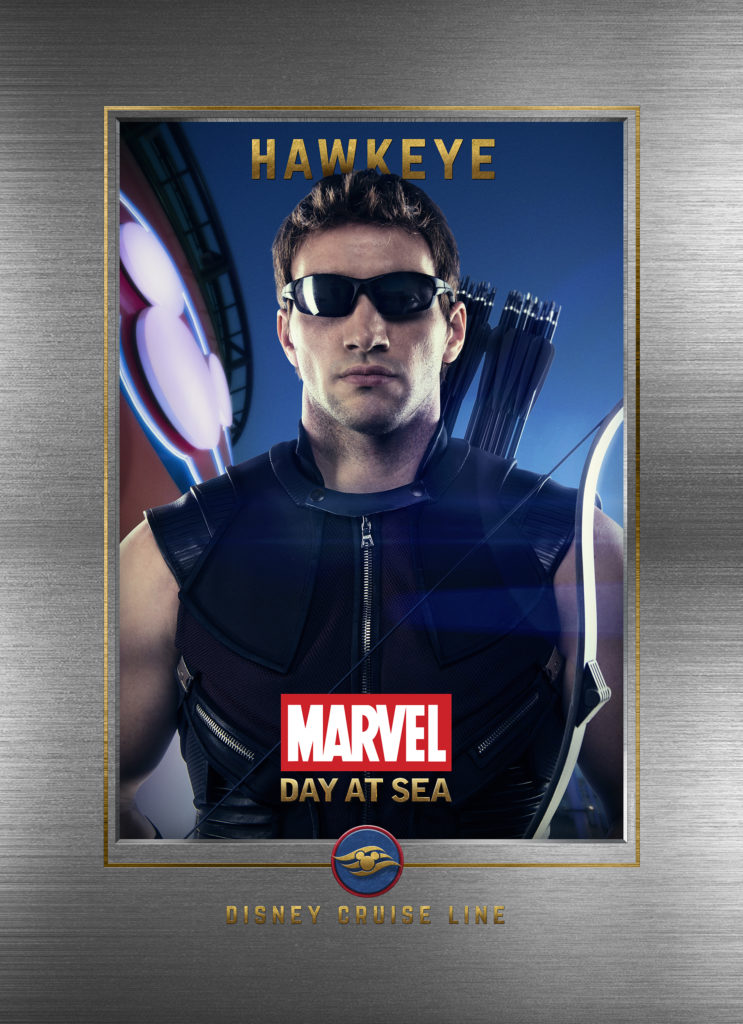 Marvel Day At Sea Wallpaper Hawkeye