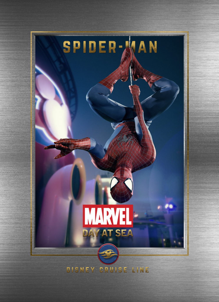 Marvel Day At Sea Wallpaper Spider Man