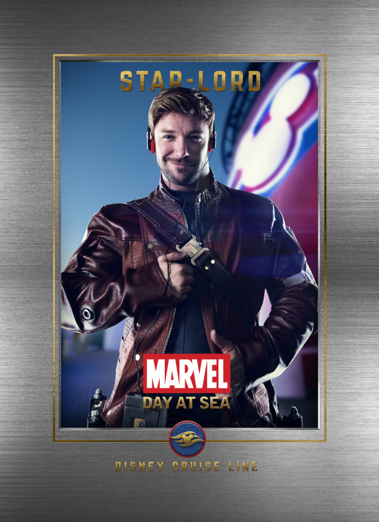Marvel Day At Sea Wallpaper Star Lord