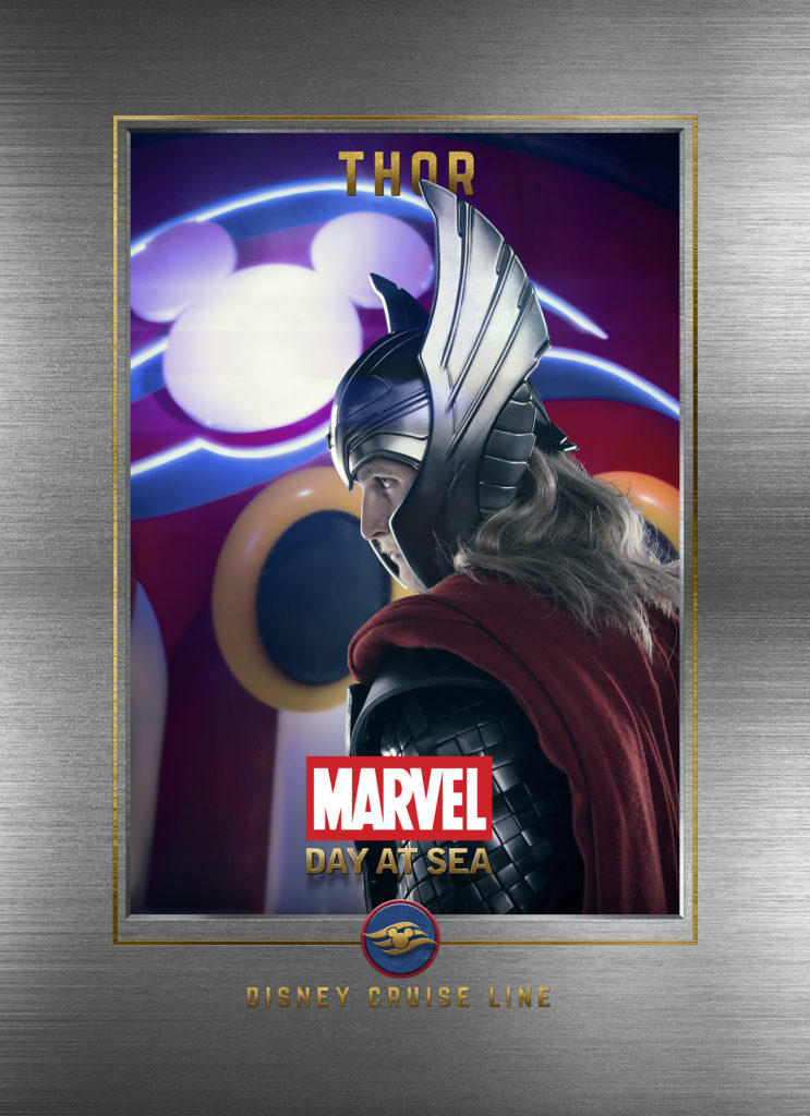 Marvel Day At Sea Wallpaper Thor