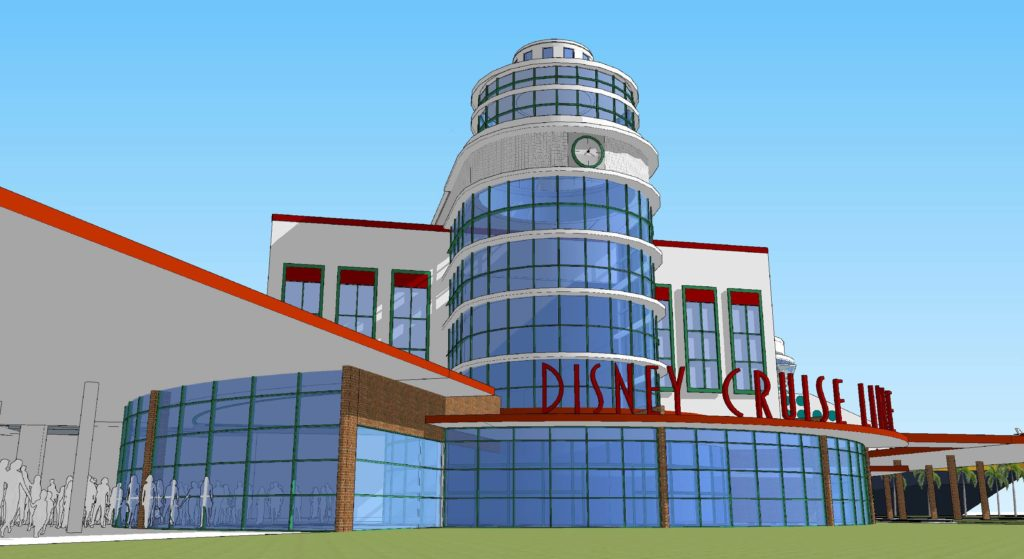 PC DCL CT8 Arrival Hall Entrance Rendering