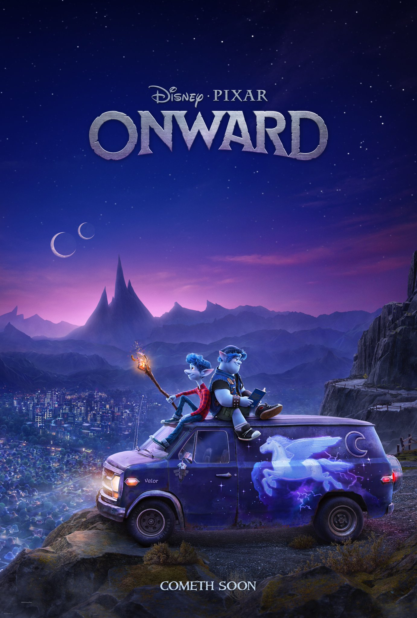 Pixar Onward Movie Poster