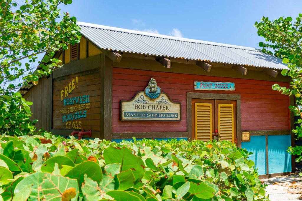 Castaway Cay Pump House Chapek Sign