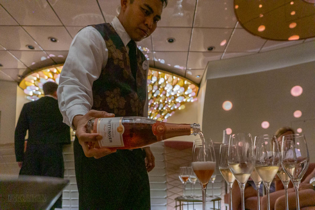 Champagne Tasting Taittinger Brut Prestige Rose