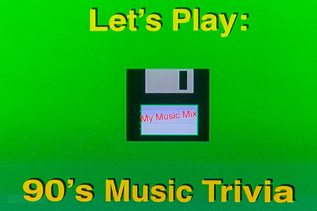 DCL 90's Music Trivia