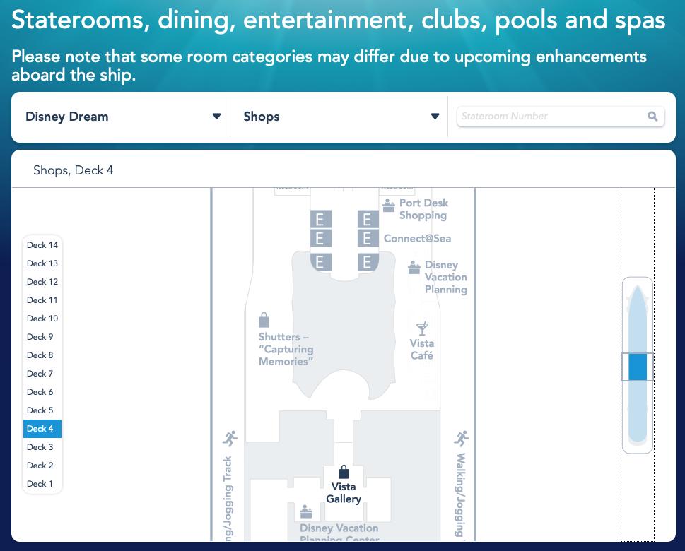 DCL Dream Deck Plan 4 Midship June 2019