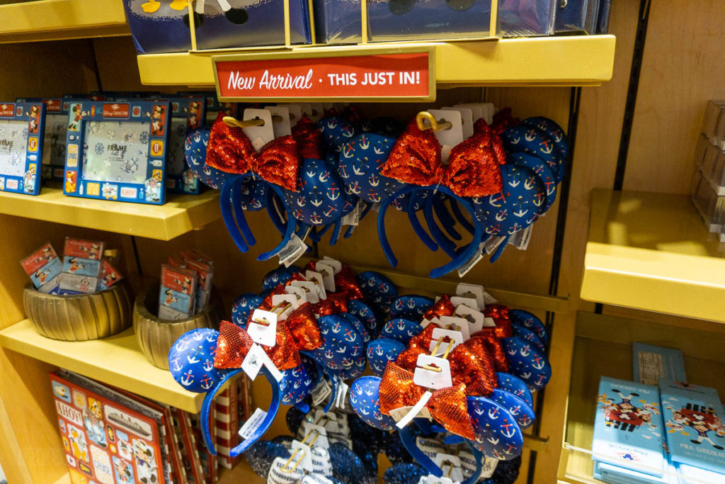 Disney Cruise Anchor Minnie Ears