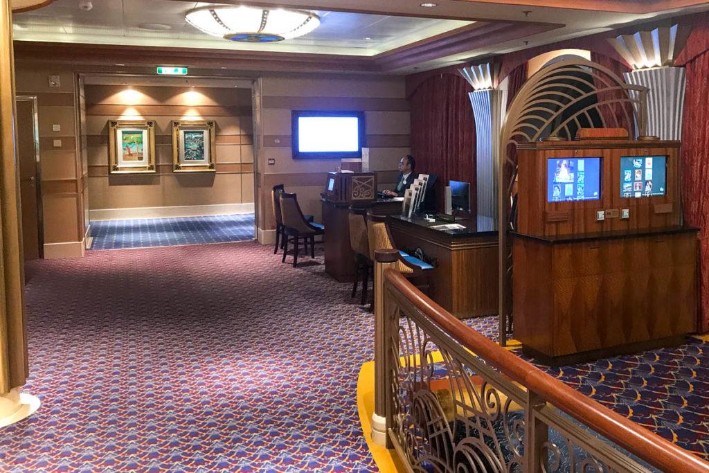 Disney Dream Future Cruise Desk