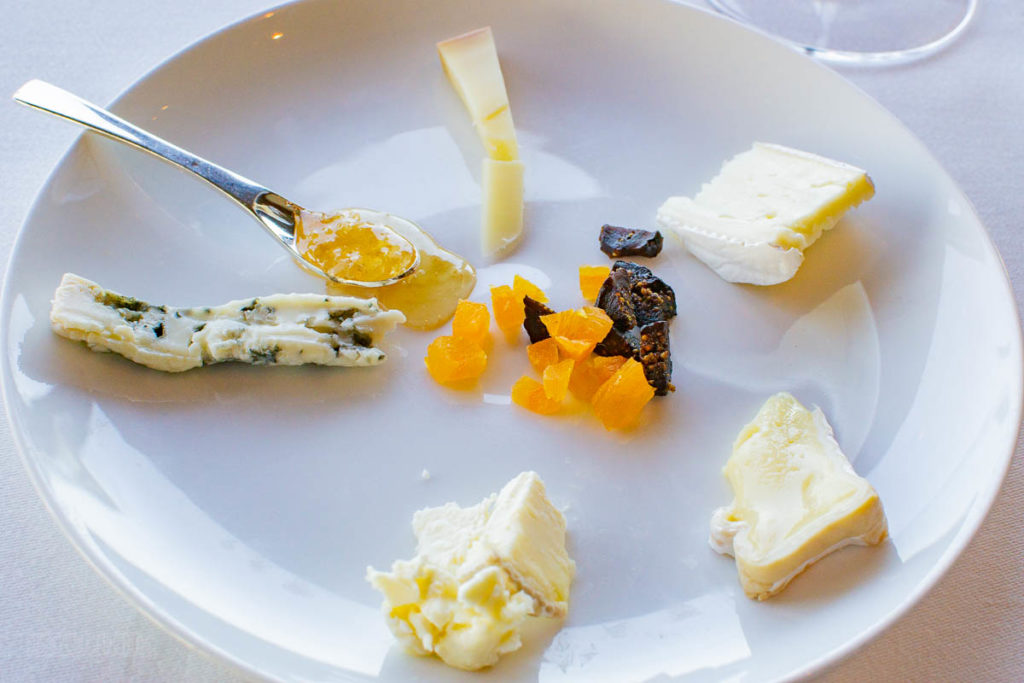 Disney Dream Remy Dinner Cheese Selection
