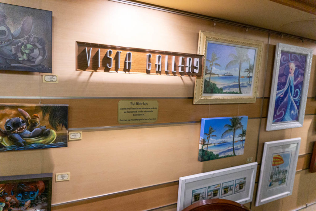 Disney Dream Vista Gallery