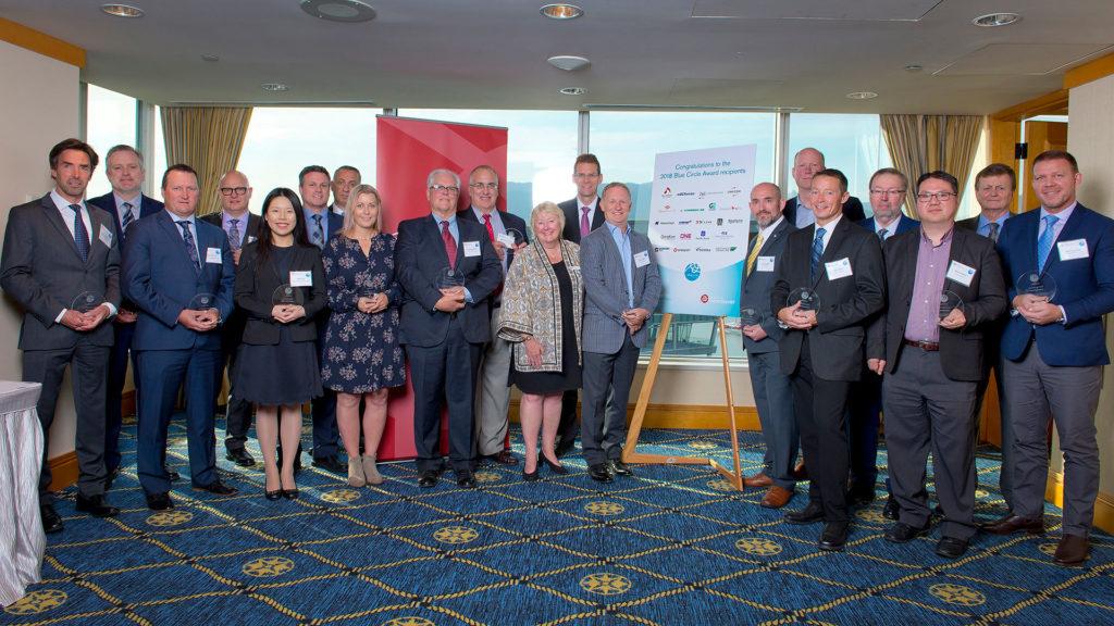 Vancouver 2018 Blue Circle Award Winners Group