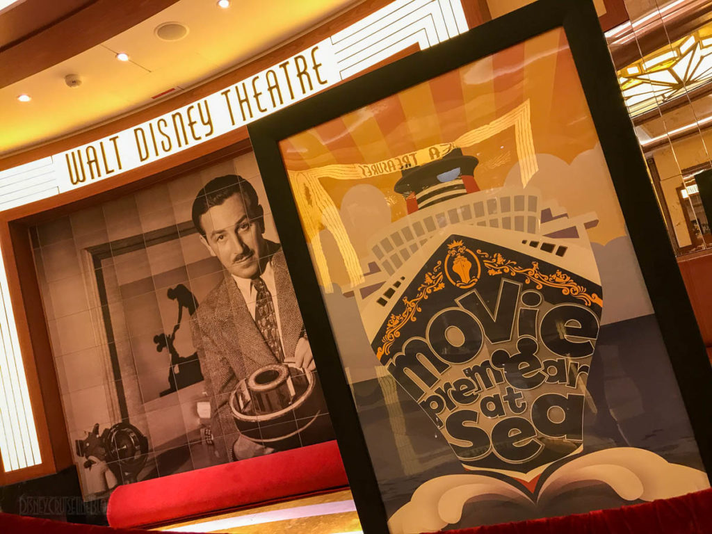 Walt Disney Theatre Movie Premear At Sea