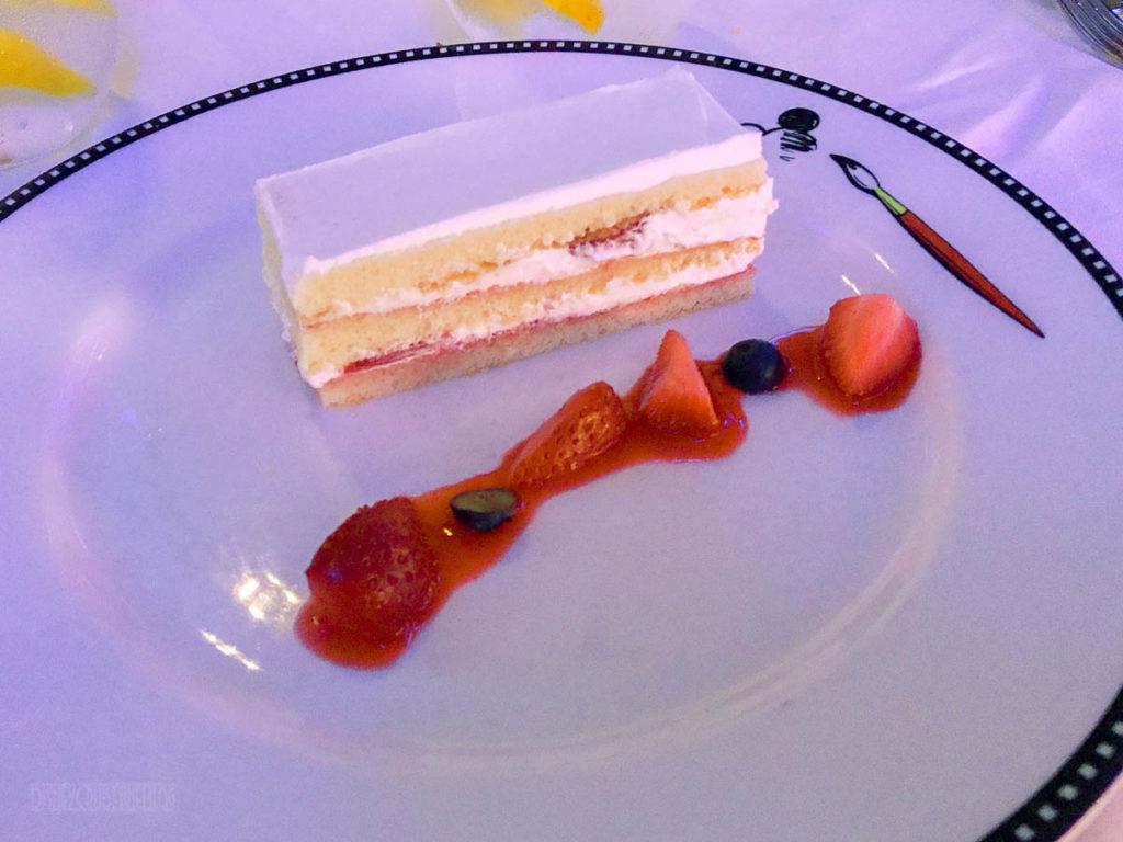 Animator's Palate Animation Magic Dessert Strawberry N Cream Cak
