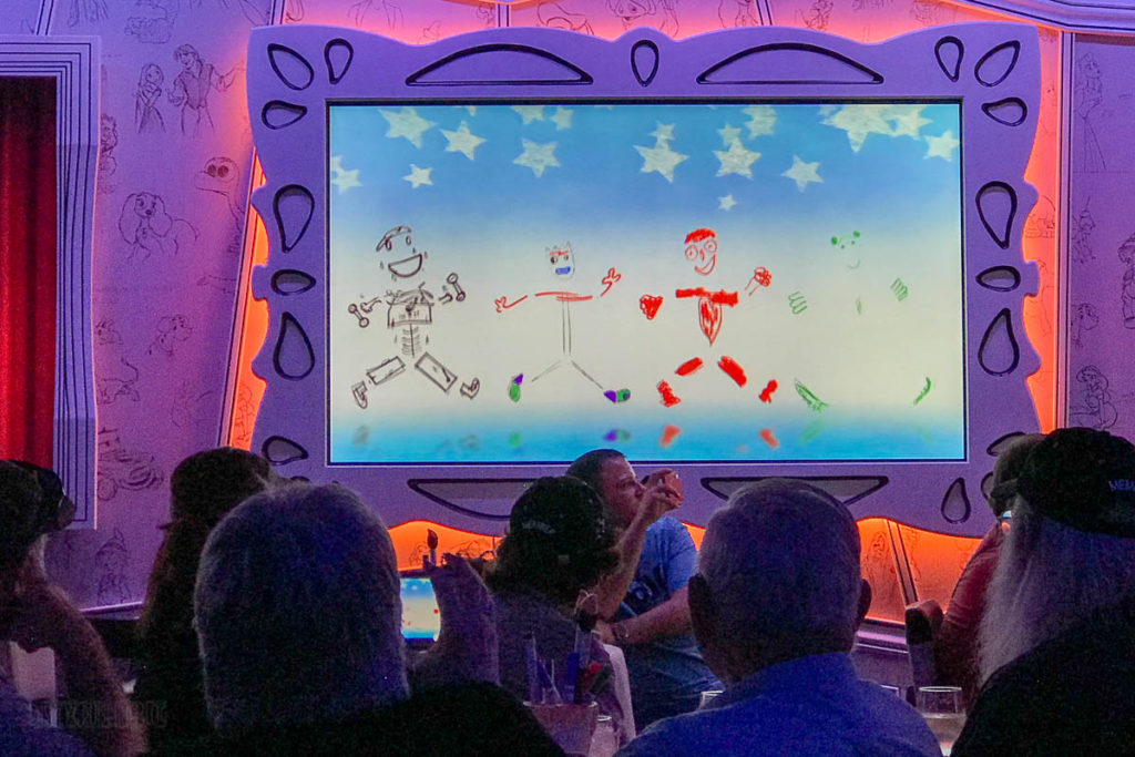 Animator's Palate Animation Magic Dinner Show